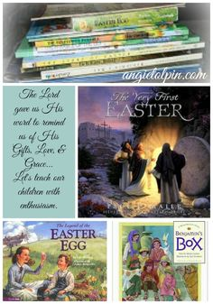Easter Parenting Resources: Our collection of Books & DVDs especially helpful during Lent & Easter