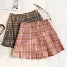 PLAID CUTE SCHOOL STYLE PLEATED SKIRT #skirt #pleated #miniskirt #mini #short #hiddenshorts #shorts #plaid #grid #tartan #school #college #ulzzang #southkorean #koreanfashion #fashion #trendy #cute #kawaii #harajuku #aesthetic #aesthetics #bottoms #bottom #japanese #tumblr #tumblrgirl #tumblroutfit #clothing #outfit #itgirlshop #itgirlclothing