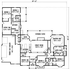 Put Garage On Back And Make The Inlaw Suite Into A Mudroom Bath Den Do Not Like Exterior By Monster House Plans Plan 41 1144