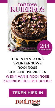 rooi rose KOOK teken in Peppermint Crisp, Mei, Pretoria, Afrikaans, Quiches, Mousse, Appetizers, Breakfast, Food
