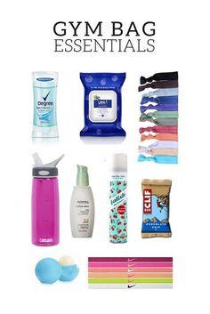 Gym Bag Essentials Sporttasche Essentials This image has get 2 rep… Locker Essentials, School Bag Essentials, Travel Bag Essentials, Workout Essentials, Workout Gear, Workout Outfits, Gym Outfits, Workout Attire, Gym Gear