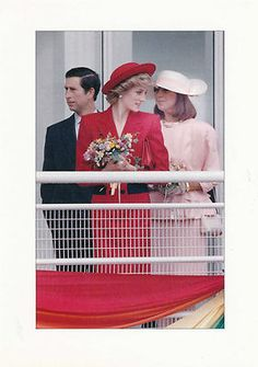 May 2, 1986: Princess Diana at the Canada Pavilian of Expo '86 in Vancouver, British Columbia.