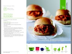 SmartSteamer chicken BBQ sliders Tupperware ~ Like it a Little... Place an Order; Like it a lot...Book a Party; Like it ALL?...Become a Consultant! www.My.Tupperware.com/NikkiMcLaughlin
