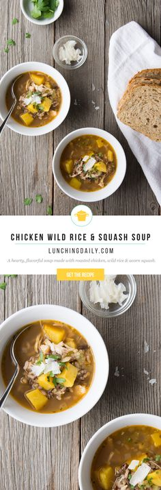A healthy and flavourful soup that is fast and simple to make, using leftovers from dinner.