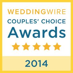2014 WeddingWire Couples' Choice Award Winner! | Little House of Flowers