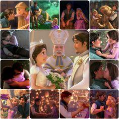 Rapunzel and Flynn <3  I love them sooooooooooo much!!!!!
