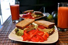 Tuna Salad Sandwich - Yes it's Vegan <3