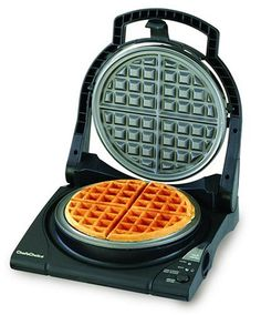 The Chef's Choice WafflePro Express turns out one thick, deep-pocketed grid