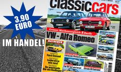 Heftvorschau CLASSIC CARS 08/2017