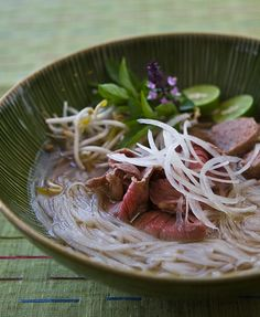I Love PHO soup!! I am a lucky girl my husband make this for me 2X a month!! He is the BEST!!
