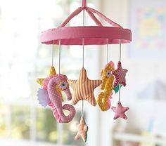 Mermaid Nursery Decor: Under The Sea Baby Crib Mobile