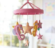 Mermaid Nursery Decor: Under The Sea Baby Crib Mobile