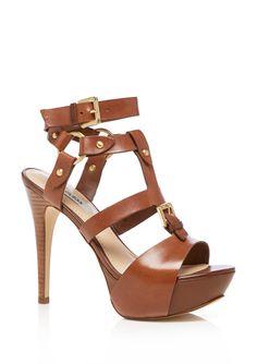 Guess Ormandi Brown platform sandals