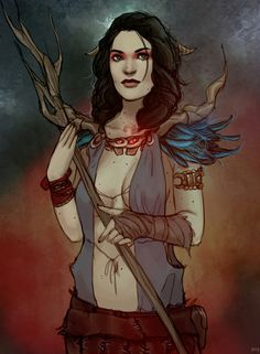 Bethany as a witch of the wilds by fine-scottish-soap