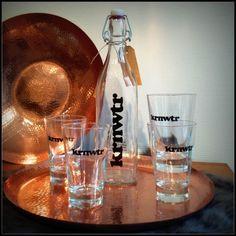 KRNWTR Waterflessen en glazen in Haarlem te koop!