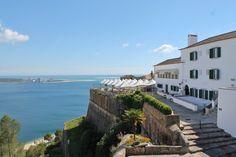 Forte de São Filipe - a beautiful view over the sea till Troia. #Portugal #Setúbal