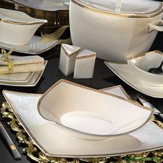 Kütahya porselen PHASELIS BCKU 83 PARÇA YEMEK TAKIMI 65121 - Ev Eşyaları
