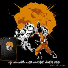My Ex-Wife was on that Death Star!    Something we can all celebrate. High five!