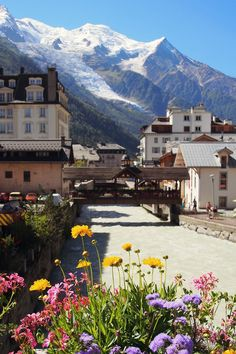 Chamonix in the French Alps ... Really must go back some time!