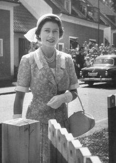 Royalty - elizabethii: Her Majesty during Her visit to...