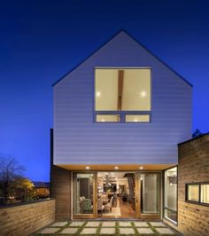 modern homes with wood siding - Google Search