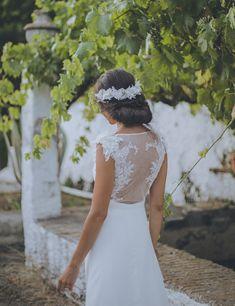 Tocados para novias · Foto, Volvoreta Bodas · Tendencias de Bodas Magazine