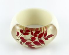 Japanese twing bangle bracelet, hot line jewelry, Window style, handmade, new size M/L
