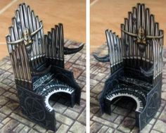 PAPERMAU: Dungeon Furniture Paper Models For Dioramas, RPG And Wargames by Fantasy Paper Miniature