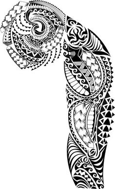 I'm not brave enough to do this large of a tattoo, but I still like it a lot #samoantattooswomen