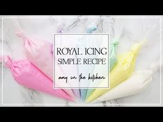 Royal Icing Recipe for Sugar Cookie Decorating - Sugar Cookie Decorating for Beginners - YouTube