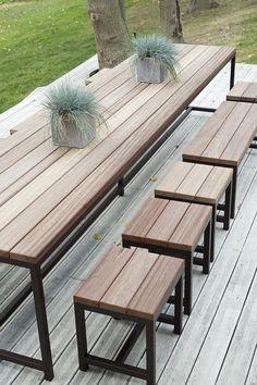 Table de jardin XXXL
