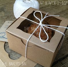 12 sets a7 kraft box with clear lid 5 38 x 1 x 7 12 inches 5 each 4 x 4 x 2 12 brownbrown lock tab box by thebakersbin m4hsunfo