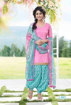 Buy Pink Hina Khan Patiala Suit online from the wide collection of Salwar Kameez. This Pink colored Salwar Kameez in Blended Cotton fabric goes well with any occasion. Shop online Designer Salwar Kameez from cbazaar at the lowest price. Designer Salwar Kameez, Ladies Salwar Kameez, Salwar Suits Pakistani, Bollywood Designer Sarees, Cotton Salwar Kameez, Punjabi Dress, Indian Salwar Kameez, Punjabi Suits, Churidar