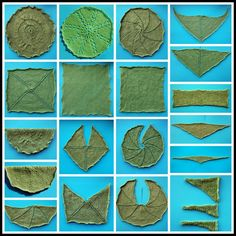 Geometría Chal-1 para tejer