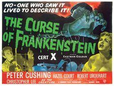 The Curse of Frankenstein, Hammer Films Prints from Easyart.com