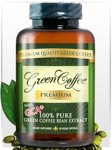 Green Coffee Premium: The Only Premium Green Coffee Bean Extract for Weight Loss