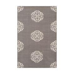 Mandala Cotton Carpet Steel - Madeline Weinrib - $450.00 - domino.com  $1075 for 6x9