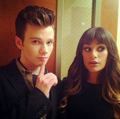 Kurt and Rachel Back at McKinley in Glee Season 4, Episode 5