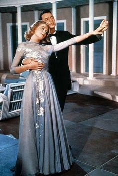absolutely adore this dress designed by Helen Rose that she wears in the 1956 film, High Society