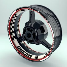 Our premium wheel stickers are known worldwide for their appearance and high quality. upgrade your bike now. Ducati Monster Custom, Yamaha Fz, Biker Boys, Rims For Cars, Cool Motorcycles, Motorcycle Accessories, Decals, Stickers, Engine
