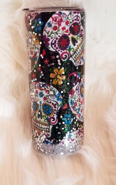 Your place to buy and sell all things handmade Diy Tumblers, Custom Tumblers, Glitter Tumblers, Coffee Tumbler, Tumbler Cups, Coffee Mugs, Glitter Wine, Glitter Cups, Epoxy