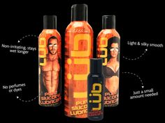 Fill out the form to get a FREE LÜB Personal Lubricant sample. More info on the next page.