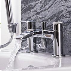 Razor Chrome Bath Shower Mixer Tap - Image 5