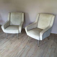 Paire de fauteuils Italiens - 1950