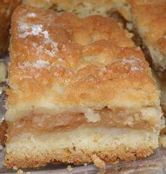 Szarlotka Torta de Maçã Polonesa Ingredientes: 2 xícara de farinha ¼ xícara de açúcar 3 ovos 1 colher (chá) de fermento 100g manteiga o...