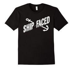 Ship Faced Fishing Shirt