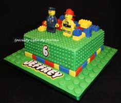 Specialty cakes that are designed for every occasion. Birthday Parties, Birthday Cake, Lego Jurassic, Lego Cake, Specialty Cakes, Desserts, Food, Nerdy Things, Gabriel