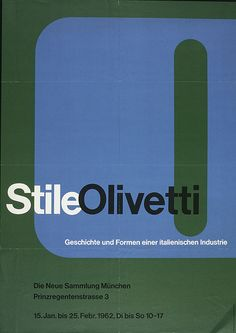 Stile Olivetti - Walter Ballmer