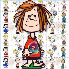 Peppermint Patty is kind...