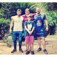Los hijos varones que me regaló la vida